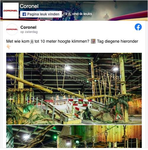 Coronel Facebook