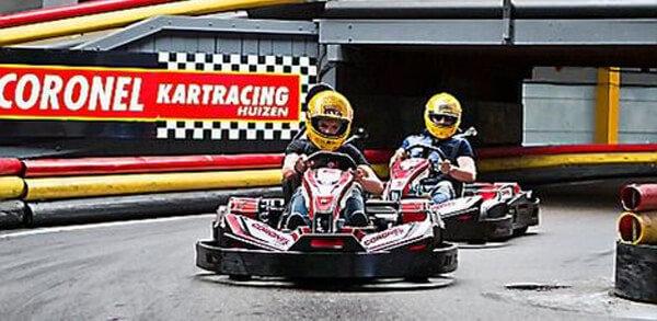 Karting - Karten bij Coronel Kartracing in Huizen | Coronel = FUN