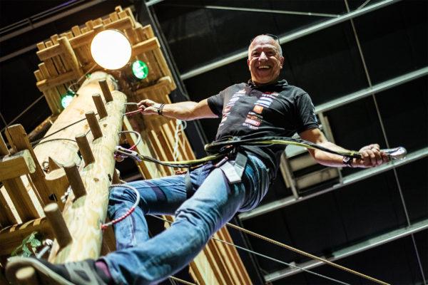 Tim Coronel klimmen adventure