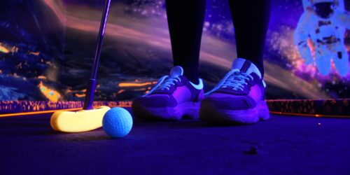 Coronel Kartracing Glow Midgetgolf